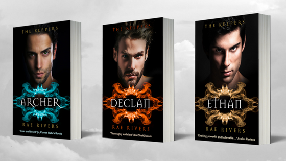 The Keepers Trilogy, Three Warrior Brothers Born to Protect, www.raerivers.com
